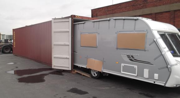 Exporting Caravans from the UK