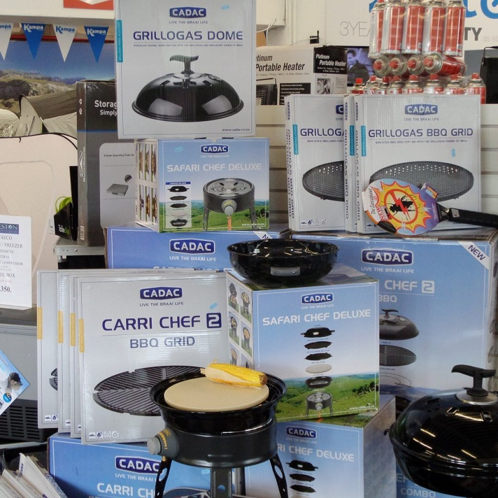 We have a huge range of Cadac BBQs in stock - perfect for these reipes!