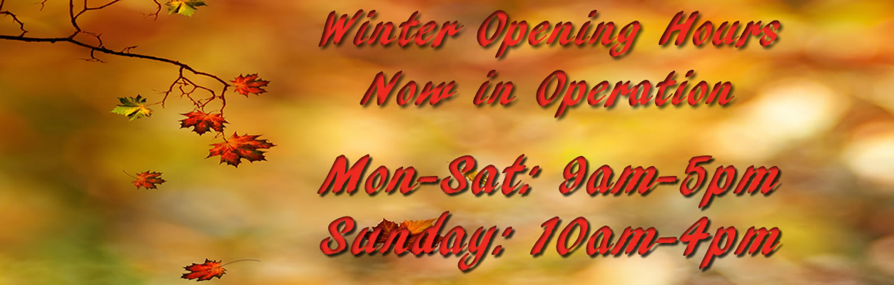 prestoncm winter opening hours