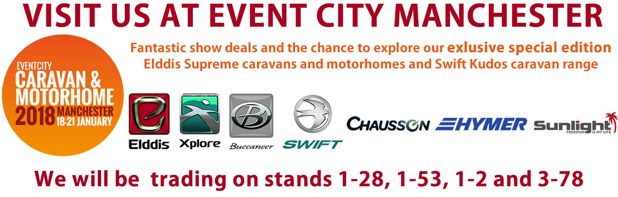 Event City Caravan and Motorhome Show 2018